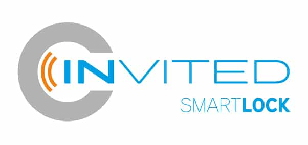 logo invited smartlock, slim deurslot, deurslot domotica, afstandbediening voordeur