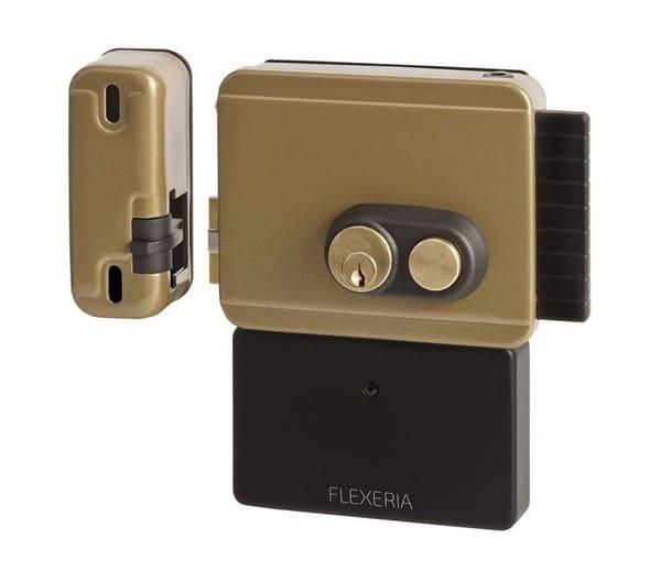 Flexeria oplegslot, staartcilinder, slim deurslot, smart lock