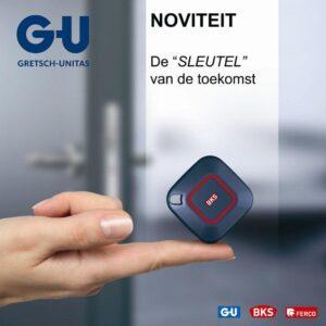 GU smart key, slimme deurslot