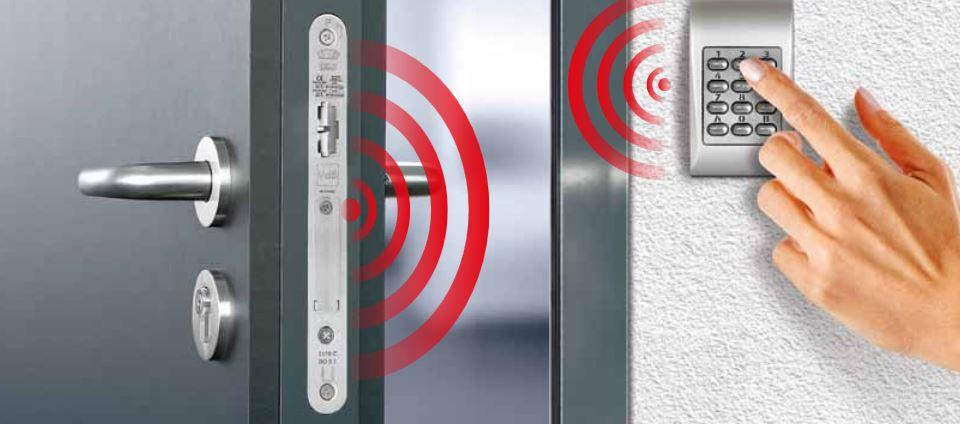 GU smartlock, din slot, elektronisch slot, slim deur slot, pincode