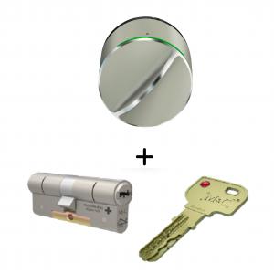 Danalock V3 met m&c cilinder, slim deurslot, smart lock