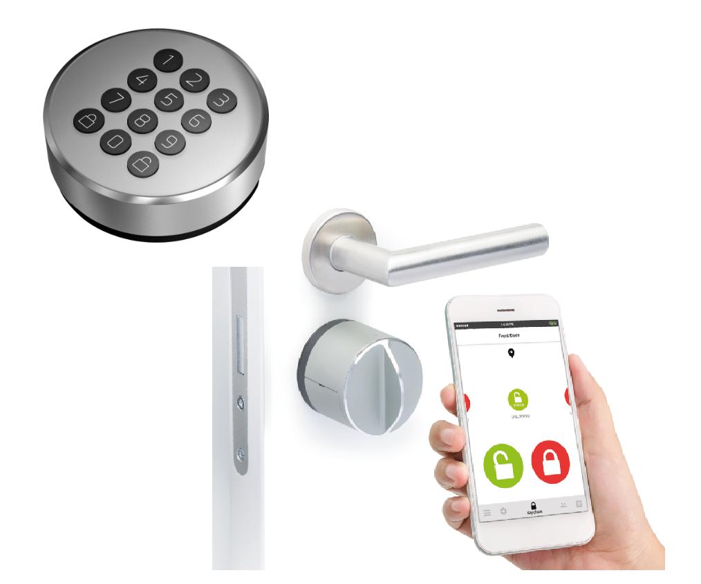 danalock v3, pincode, slim deurslot, elektrisch slot