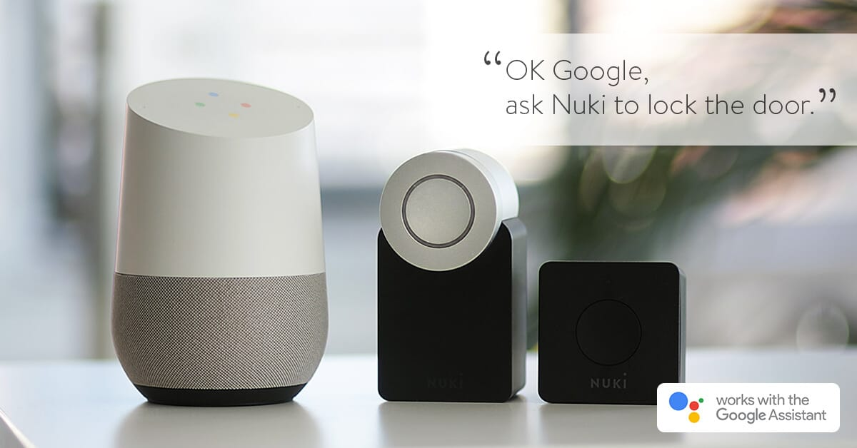 Nuki integreren Google Assistant en Amazon Alexa