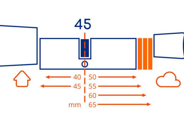 BOLD Cylinder - Length Model 45
